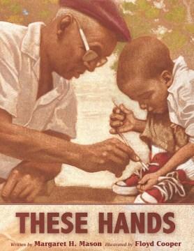 Estas manos, portada del libro