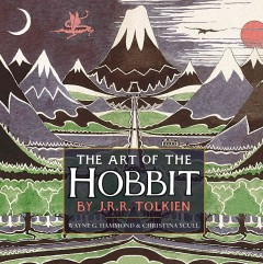 The Art of the Hobbit by J.R.R. Tolkien, book cover