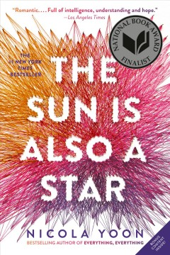 The Sun Is Also A Star , book cover