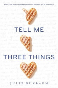 Tell Me Three Things, book cover