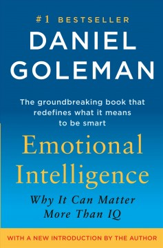 Emotional Intelligence, book cover