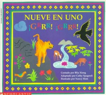 Nueve en uno Grr! Grr! Un cuento popular hmong de Laos, book cover