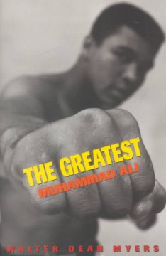 The Greatest: Muhaamad Ali, book cover