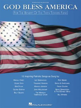 God Bless America Piano, Vocal, Guitar, book cover