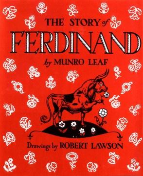 Câu chuyện về Ferdinand, bìa sách
