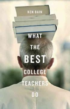 Lo que hacen los mejores profesores universitarios, portada del libro