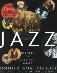 Jazz A History of America's Music, book cover