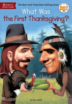 What Was the First Thanksgiving?, book cover
