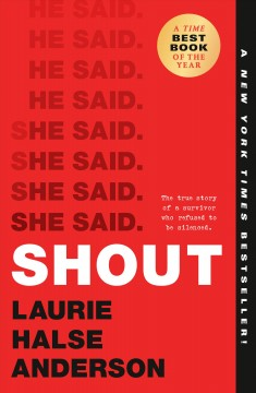 SHOUT, book cover