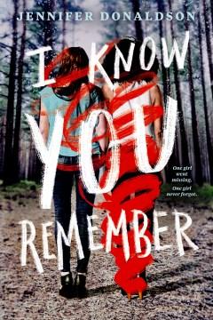 I Know You Remember, portada del libro