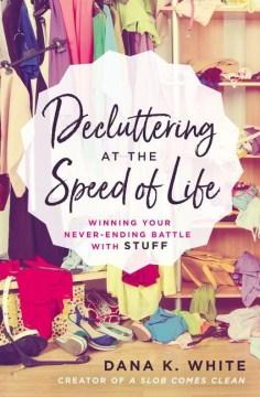 Ordenar a la velocidad de la vida, portada del libro