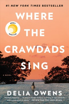 1. Where The Crawdads Sing , book cover