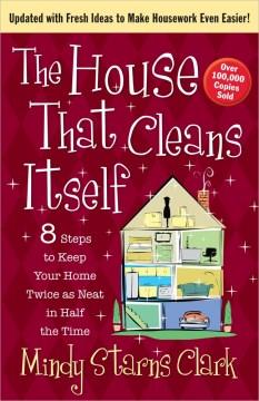 La casa que se limpia a sí misma, portada del libro