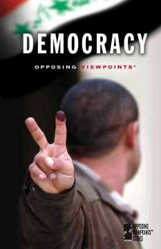 Democracy, book cover