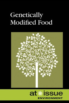 Genetically Modified Food, book cover