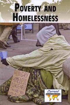Pobreza y falta de vivienda, portada del libro