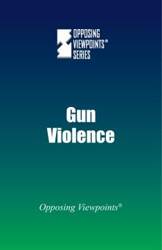 Violencia armada, portada del libro