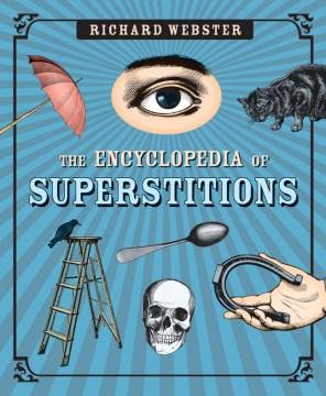 La enciclopedia de supersticiones, portada del libro