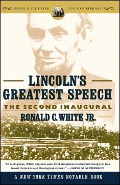El discurso más grande de Lincoln, portada del libro
