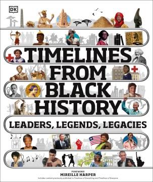 Timelines from black history leaders, legends, legacies