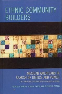 Ethnic Community Builders , book cover