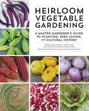 Jardinería de verduras de la herencia, portada del libro