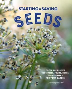 Comenzando y ahorrando semillas, portada del libro