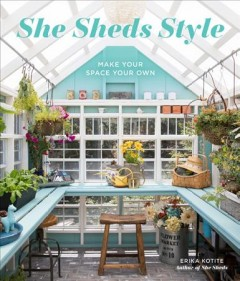 She Sheds Style, book cover