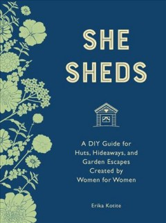 She Sheds, book cover