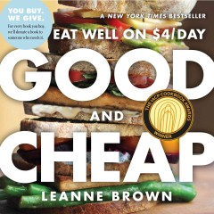 Good and Cheap Eat Well on $4/day, book cover
