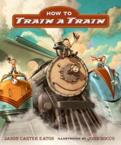 How to Train A Train, book cover
