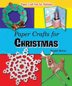 Paper Crafts for Christmas, book cover