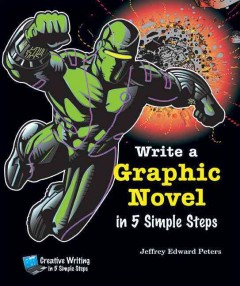 Write A Graphic Novel in 5 Simple Steps, book cover