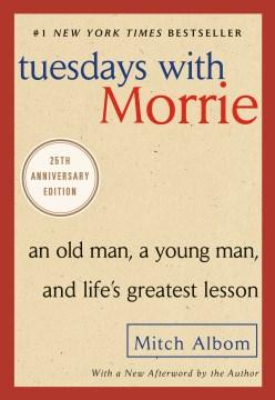 Martes con Morrie, portada del libro