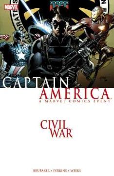 キャプテンアメリカ内戦のカバー