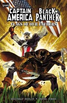 アメリカ国旗のキャプテンアメリカ/ブラックオパンサーのカバー
