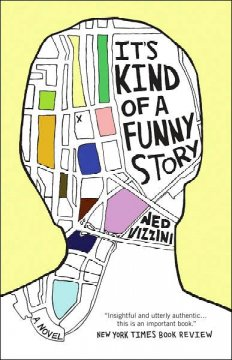 It's Kind of A Funny Story, book cover