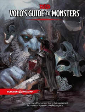 Guía de monstruos de Volo, portada del libro
