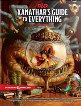 Guía de Xanathar para todo, portada del libro