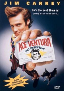 Ace Ventura, Pet Detective , book cover