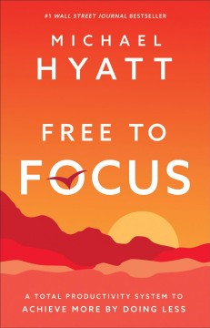 Free to Focus, portada del libro