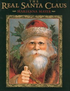 The Real Santa Claus, book cover