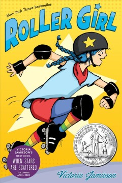 Roller Girl, book cover