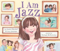 I Am Jazz!, book cover