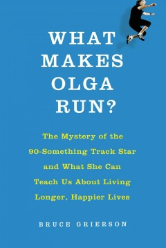 What Makes Olga Run?, book cover