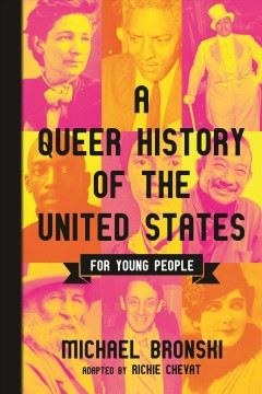 A Queer History of the United States for Young People, book cover