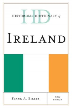 Historical Dictionary of Ireland, book cover