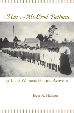 Mary McLeod Bethune & Black Women's Political Activism, book cover