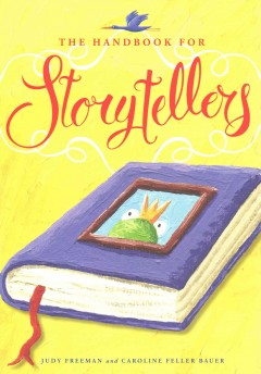 The handbook for storytellers, book cover