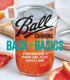 Ball Canning Back to Basics , book cover
